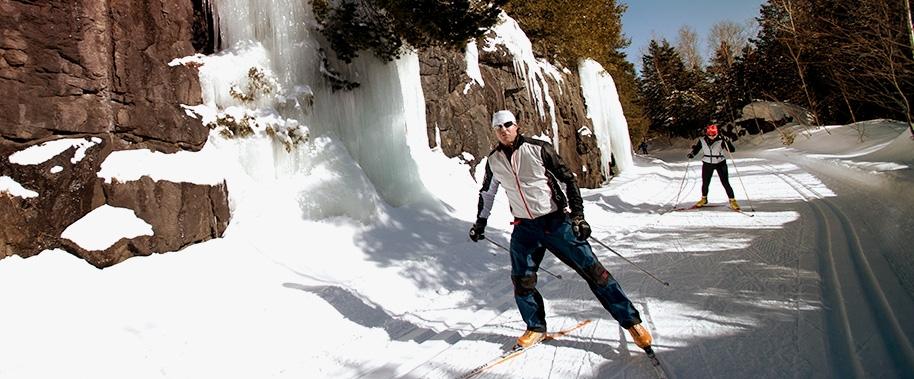 Ski de fond Parc Linéaire Petit Train du Nord
