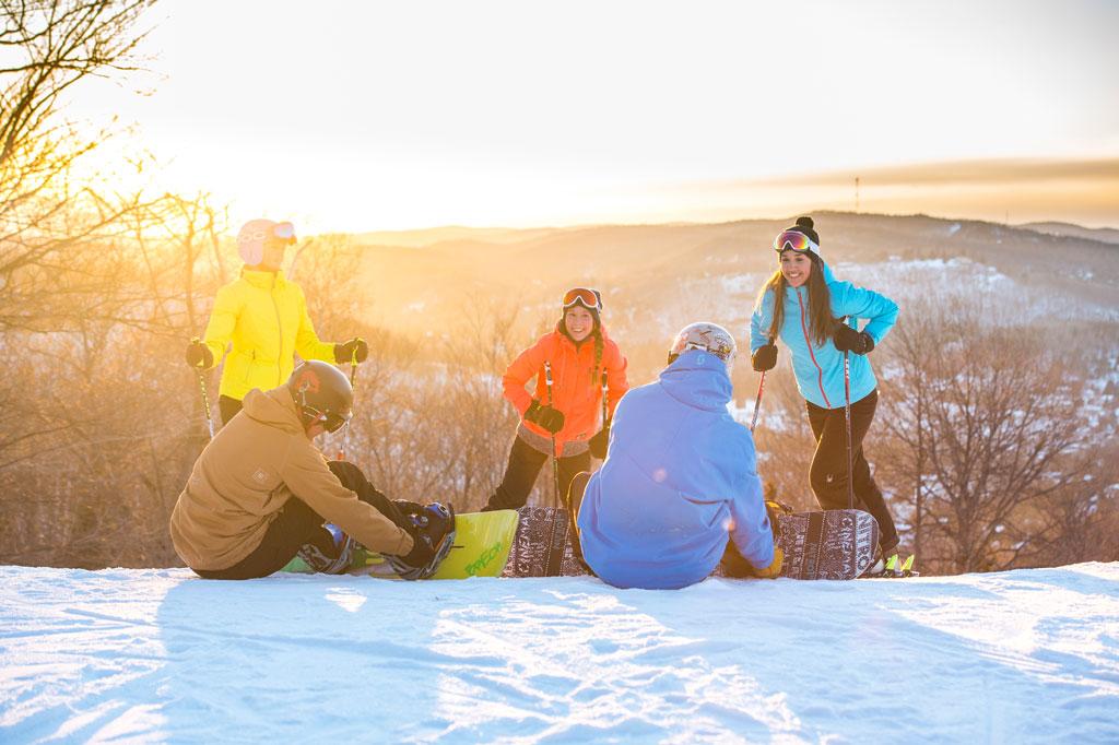 Ski Sommets Saint-Sauveur