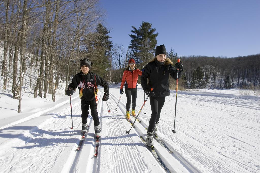 Ski de fond et raquette à Morin Heights