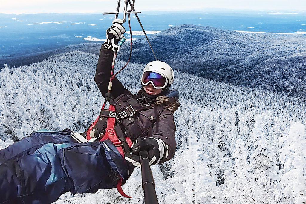 TYROPARC Randonnée & Méga-Tyroliennes hivernales
