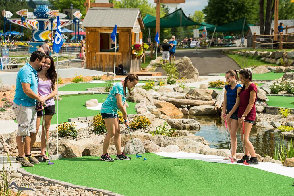 Forfait Mini-Golf Sommet Saint-Sauveur