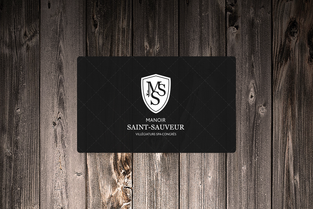 Votre carte Cadeau du Manoir Saint-Sauveur!