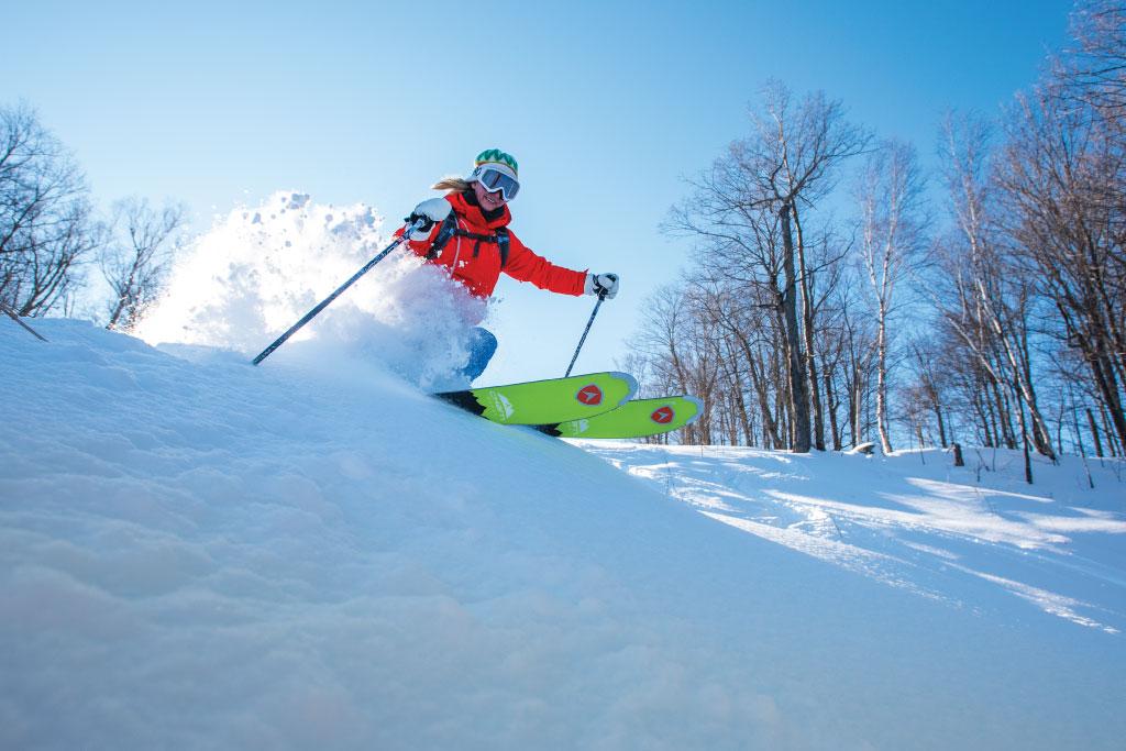Forfait Ski de printemps Les Sommets Saint-Sauveur