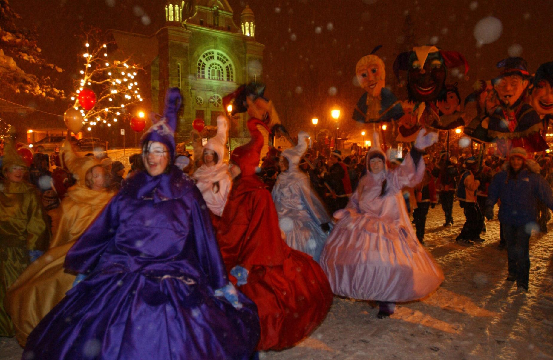 Parade d'Halloween Saint-Sauveur