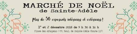Marché de Noel Sainte-Adèle
